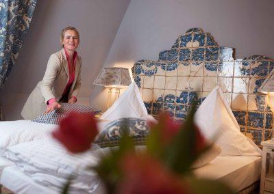 Borgstube Hotel Pronstorfer Torhaus - Bett