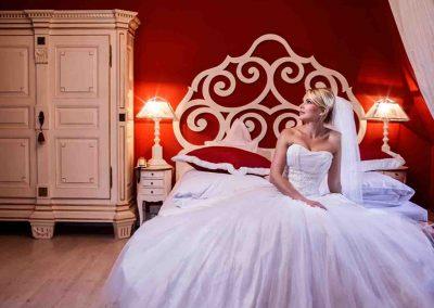 Hochzeit Gut Pronstorf - Braut Zimmer