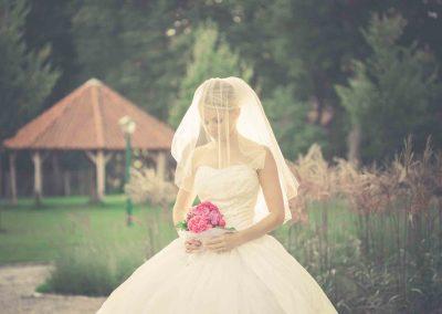 Hochzeit Gut Pronstorf - Brautkleid ©beck