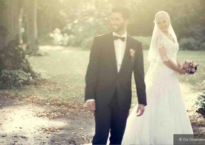 Hochzeit Gut Pronstorf - Brautpaar zusammen ©Özcan