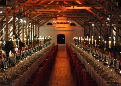 Hochzeit Gut Pronstorf - Festsaal