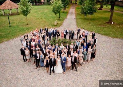 Hochzeit Gut Pronstorf - Freunde 2 ©Schweiger