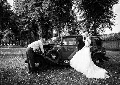 Hochzeit Gut Pronstorf - Hochzeitsauto  ©Subke