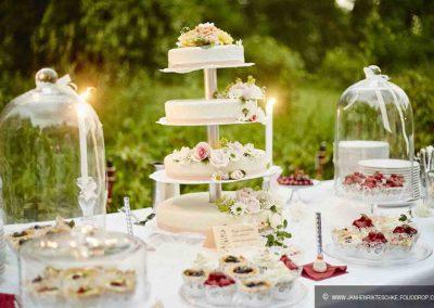 Hochzeit Gut Pronstorf - Hochzeitstorte ©Depner
