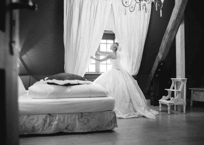 Hochzeit Gut Pronstorf - Hochzeitszimmer