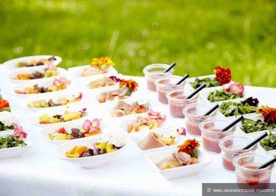 Hochzeit Gut Pronstorf - apperitiv ©Depner