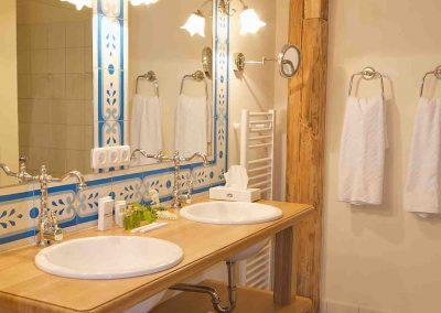 Kornblumenstube Hotel Pronstorfer Torhaus - Bad ©Sonja Bannick