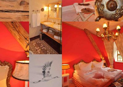 Kutscherstube Hotel Pronstorfer Torhaus - Kollage