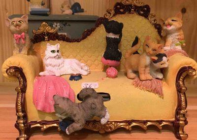 Pronstorfer Weihnacht Katzenminiaturen