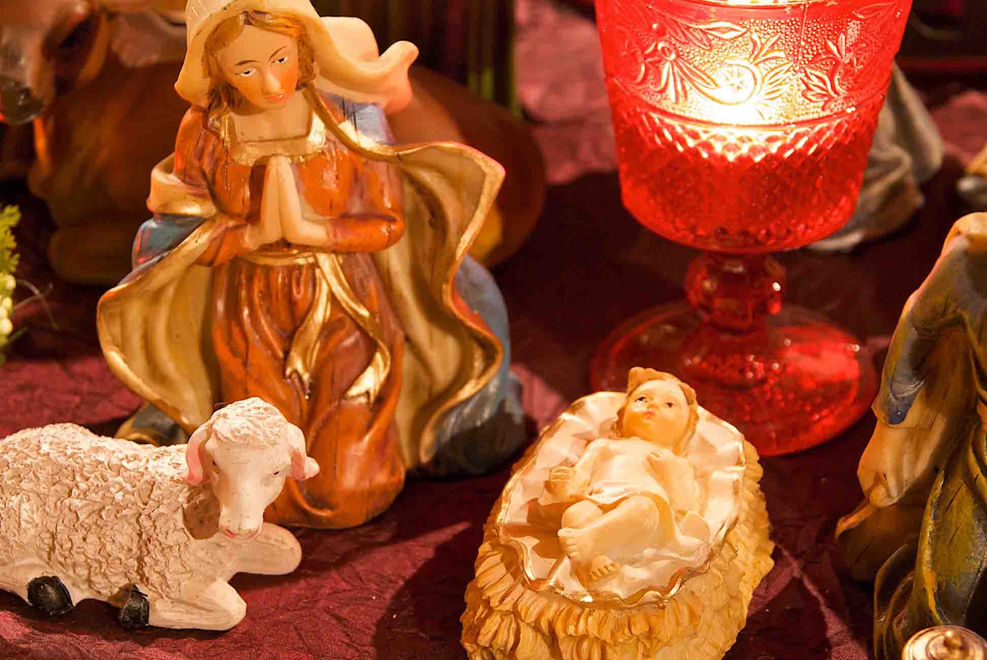 Pronstorfer Weihnacht Krippe 2 ©Sonja Bannick