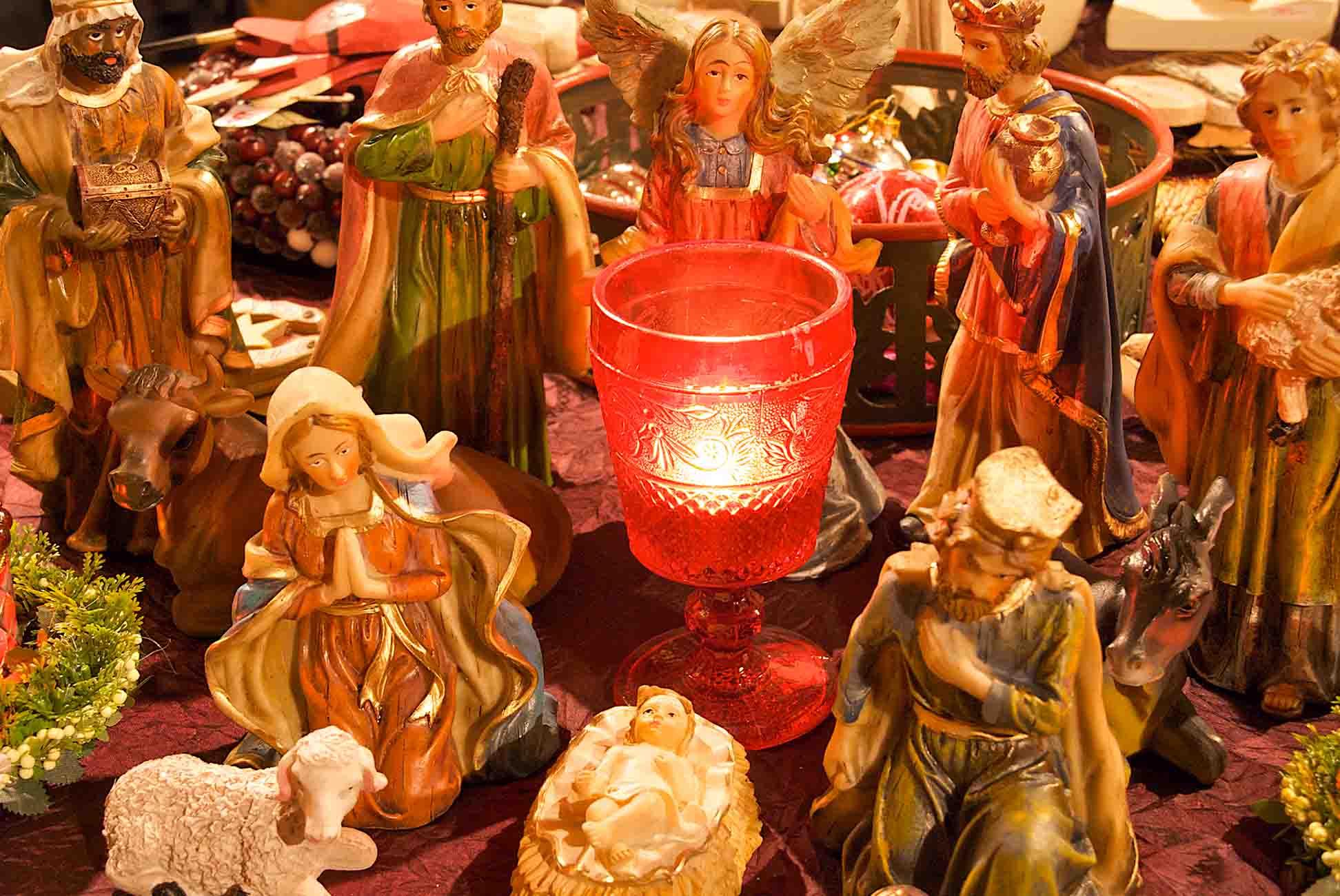 Pronstorfer Weihnacht Krippe