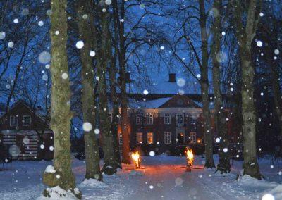 Pronstorfer Weihnacht Schnee
