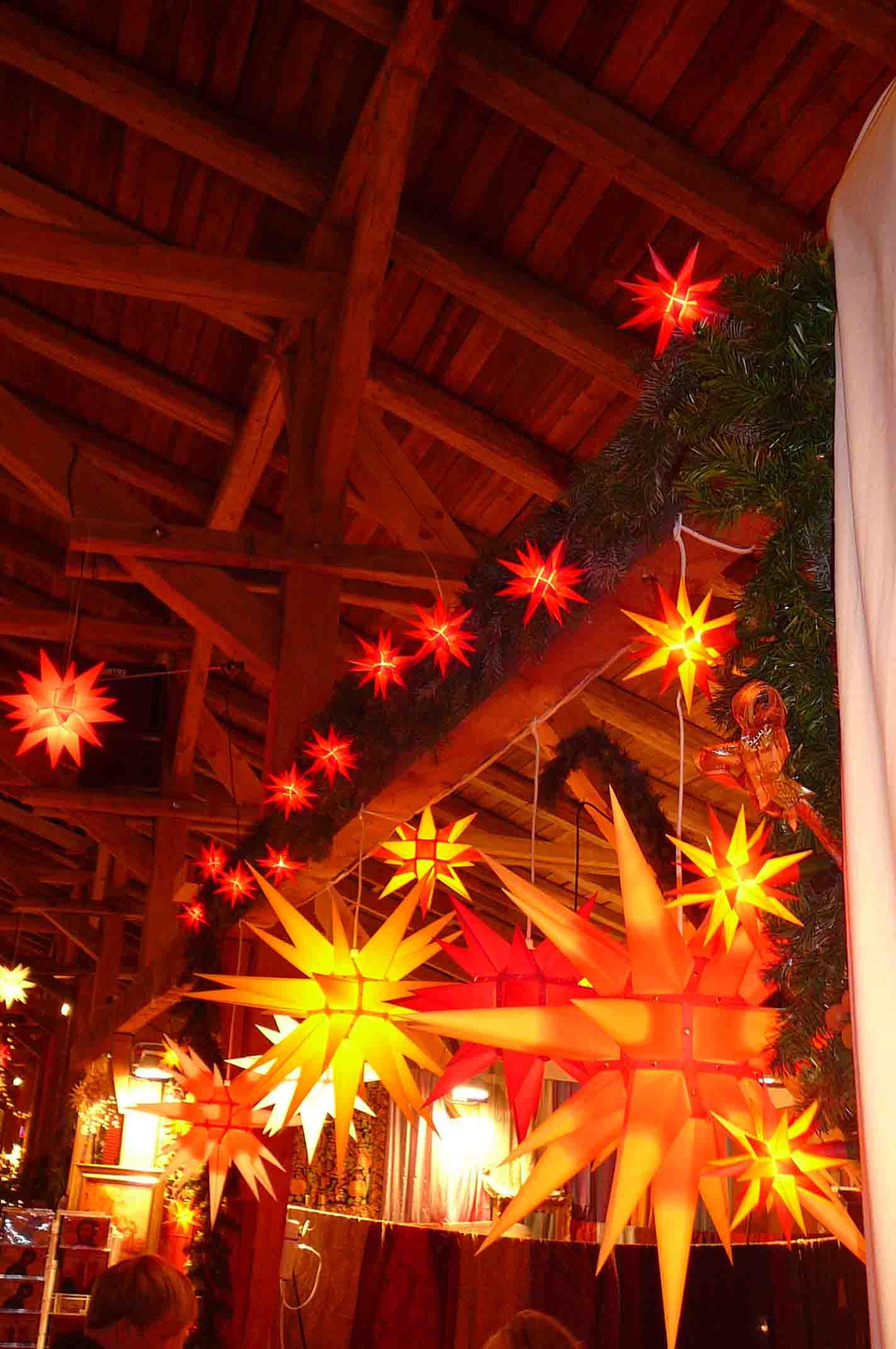 Pronstorfer Weihnacht Sterne