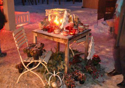 Pronstorfer Weihnacht tisch