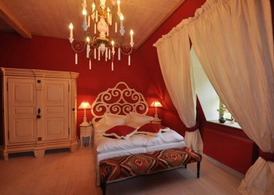 Schmiede Hotel Pronstorfer Torhaus - Doppelbett