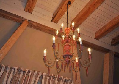 Sommerabend Hotel Pronstorfer Torhaus - Leuchter