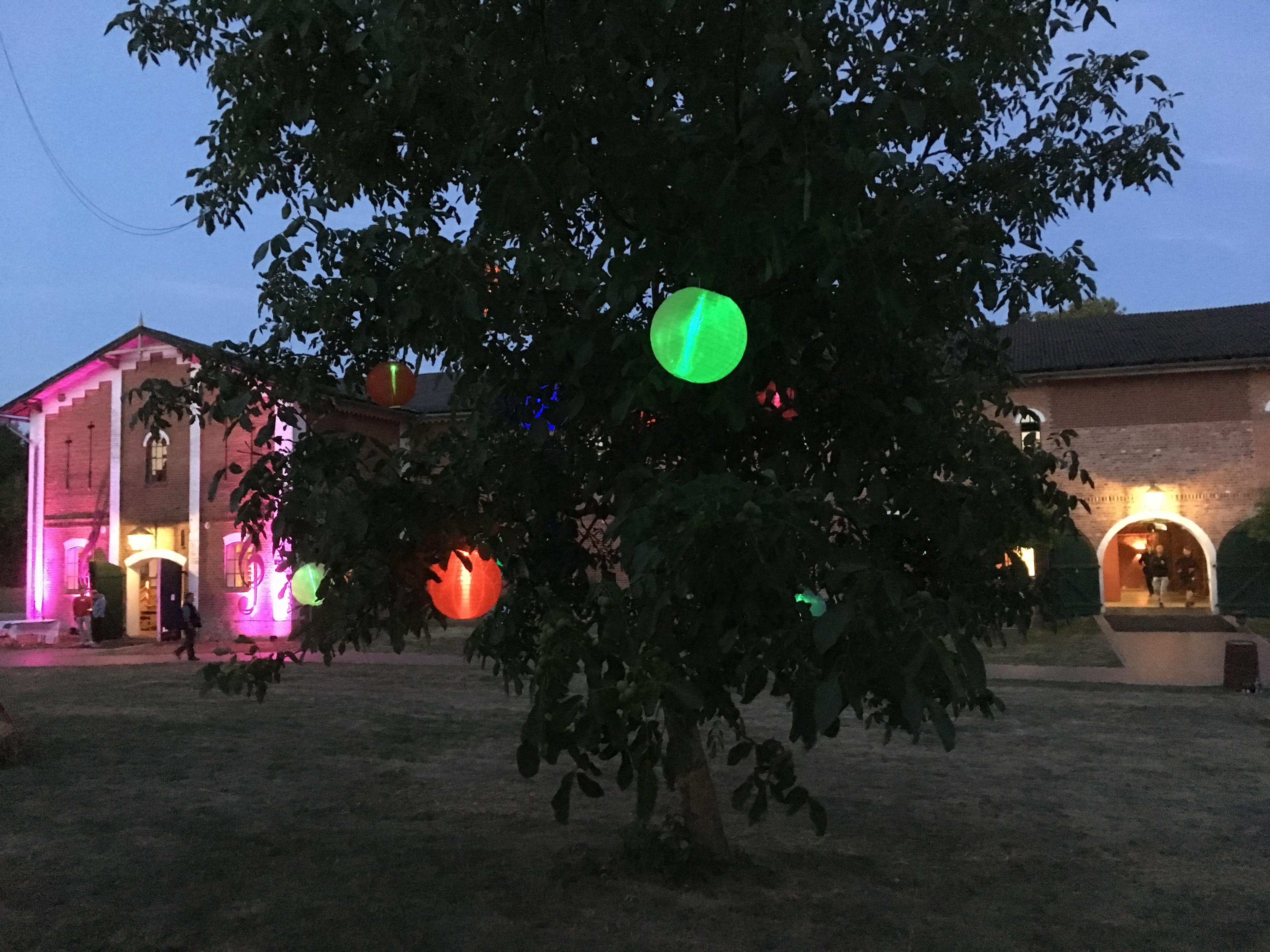 Schleswig-Holstein Musik Festival Pronstorf bei Nacht