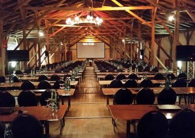 Kuhstall Tagungen Beleuchtung
