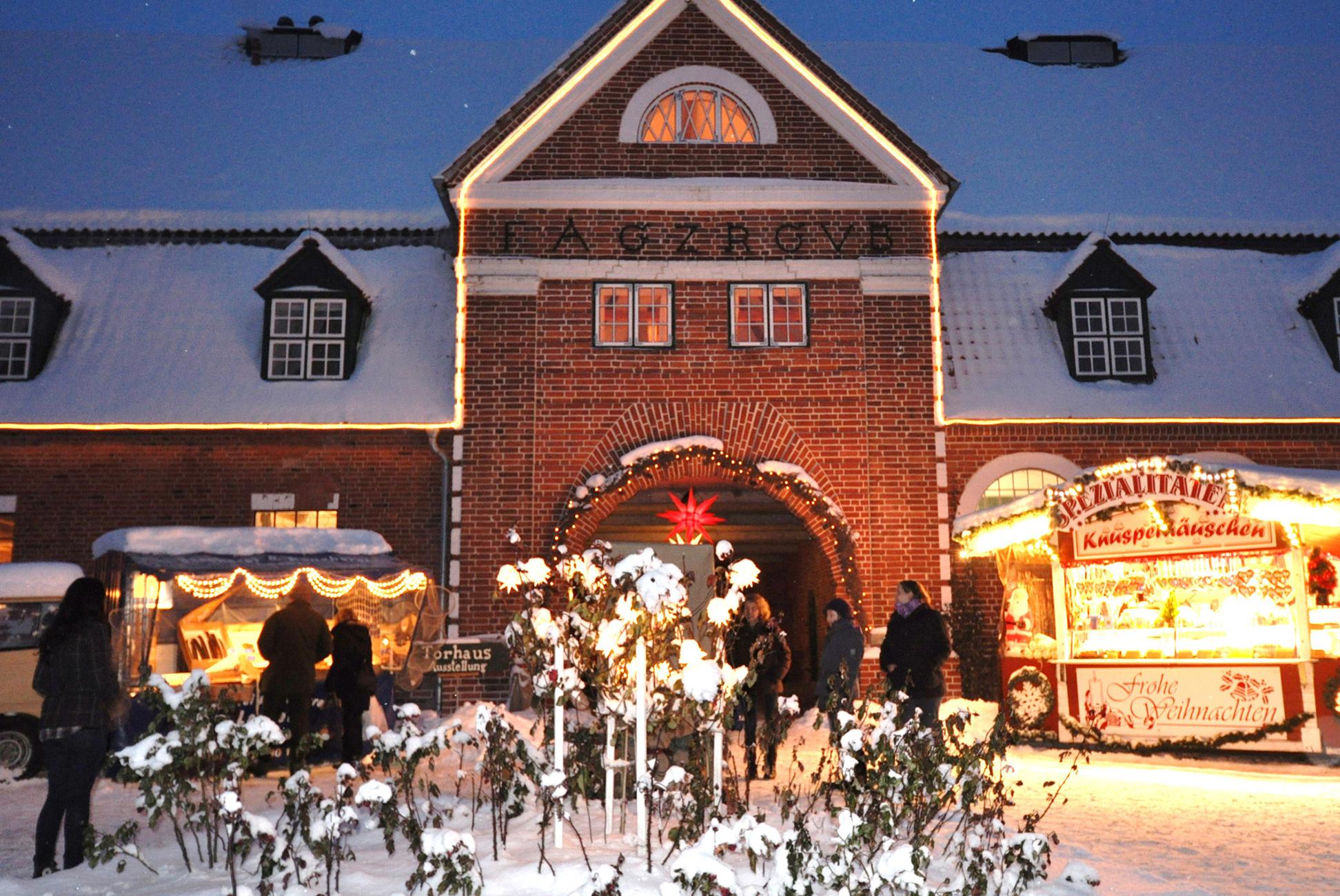 Pohnsdorf Weihnachtsmarkt.Galerie Pronstorfer Weihnachtsmarkt