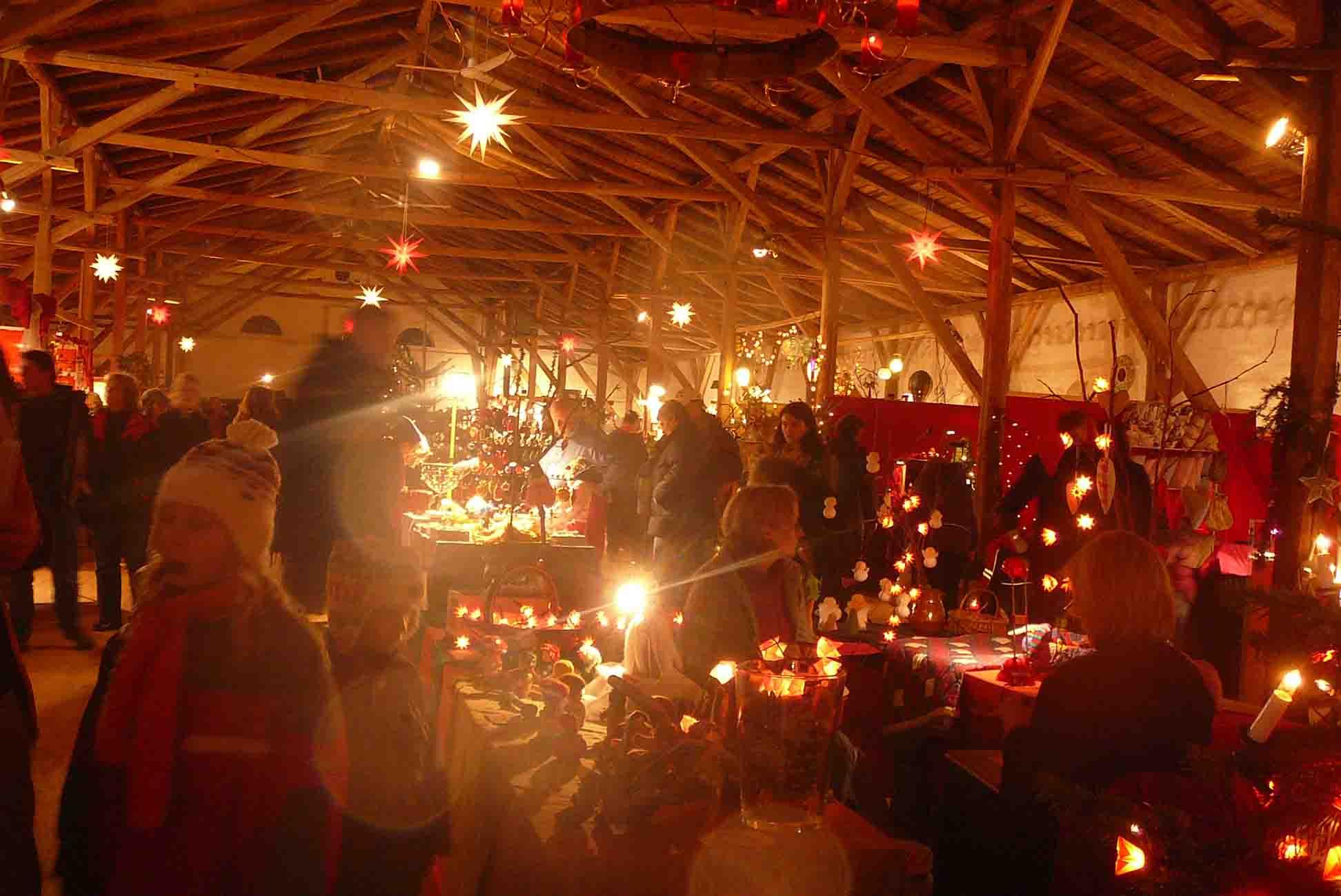 Gut Pronstorf Weihnachtsmarkt Essen