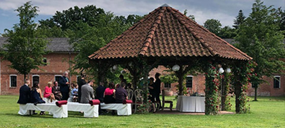 Pavillon Heiraten Gut Pronstorf