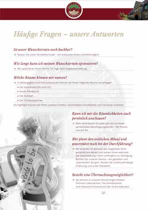 Häufige Fragen Hochzeit Schleswig Holstein